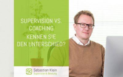 Supervision vs. Coaching – Kennen Sie den Unterschied?